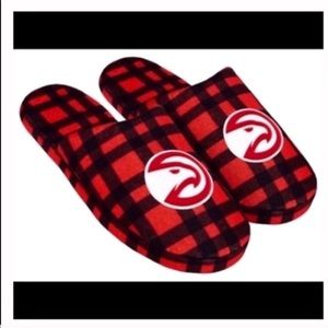 Atlanta hawks slide slippers medium 9 / 10